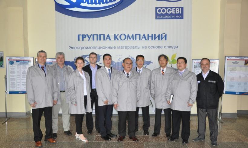 Специалисты «Фуджи Электрик», Япония посетили завод «Элинар»