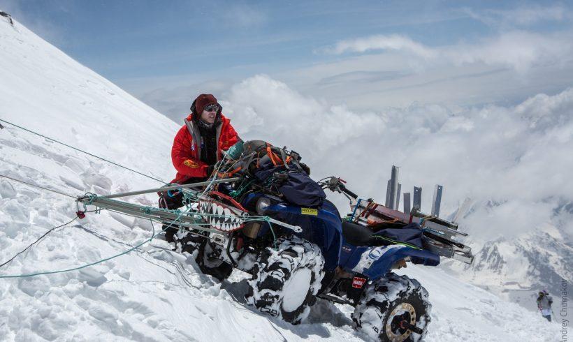 Квадроцикл на вершине Эльбруса!
