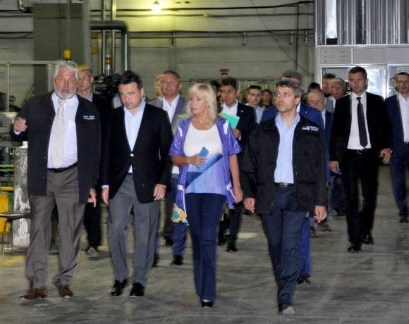 Губернатор Московской области АНДРЕЙ ВОРОБЬЕВ посетил завод «Элинар»