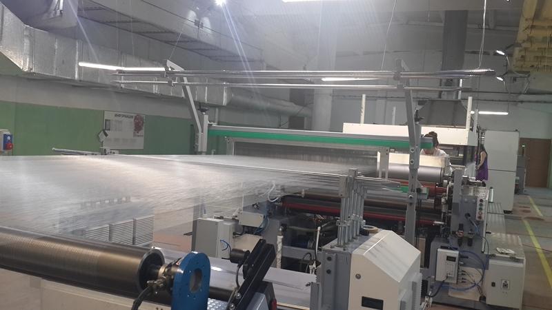 Ввод в эксплуатацию нового оборудования на заводе «Астраханское стекловолокно»