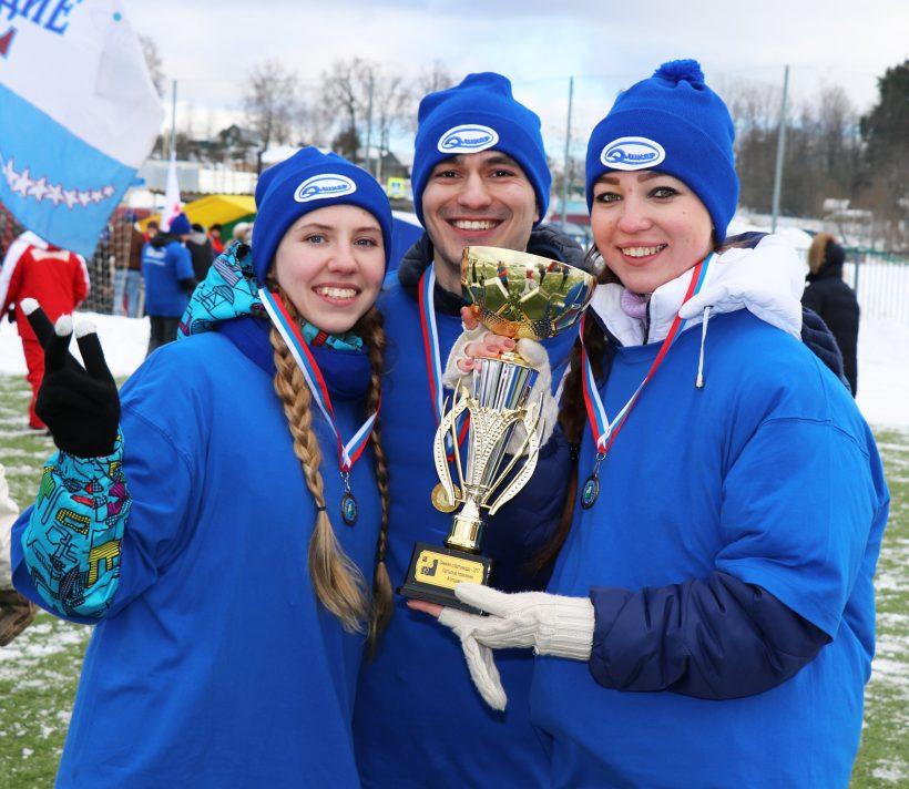 Элинаровцы – абсолютные чемпионы зимней спартакиады!