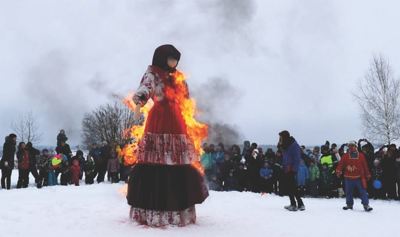 Merry Maslenitsa- following all the traditions in Elagino!