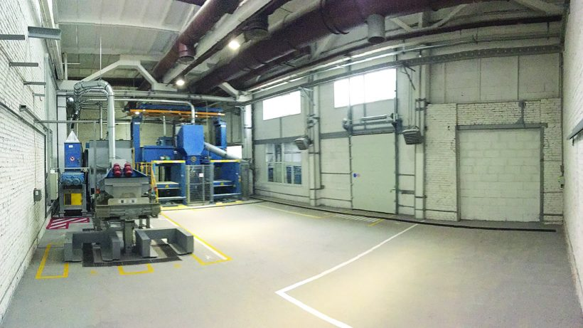 Renovation of the mica cleaning department in Elinar  ZEIM plant