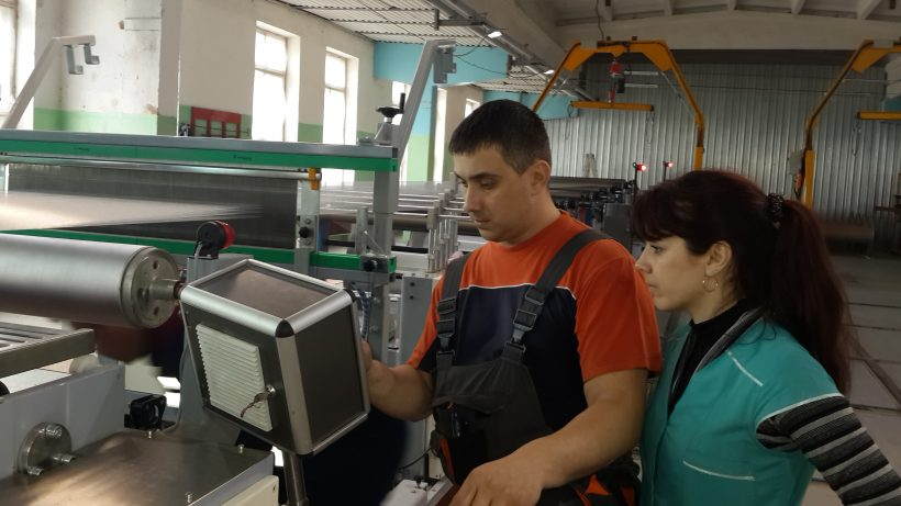 Новые технологии шлихтования стеклонити