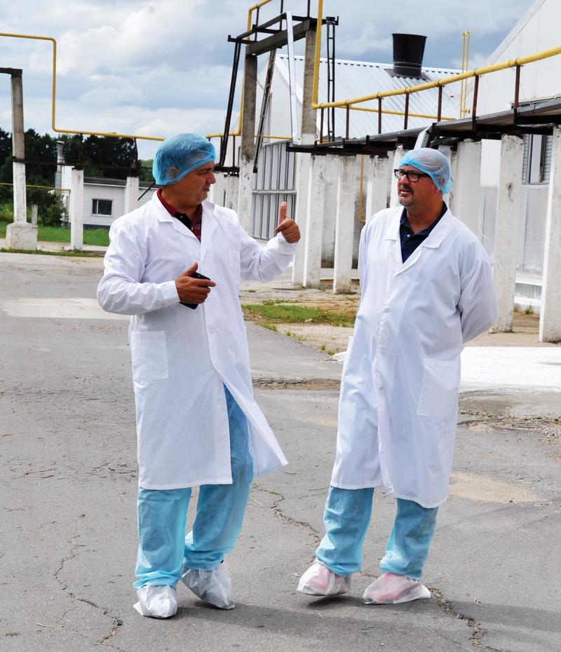 Директор компании First Fresh Foods Виллиам Дженнингс побывал на птицефабрике «Элинар-Бройлер»