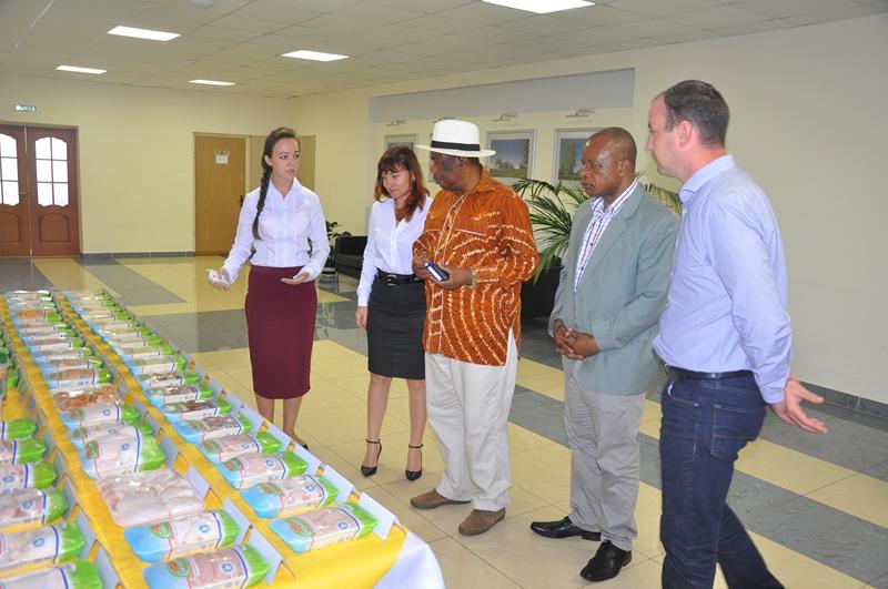 Официальный визит посла Зимбабве на птицефабрику «Элинар-Бройлер»