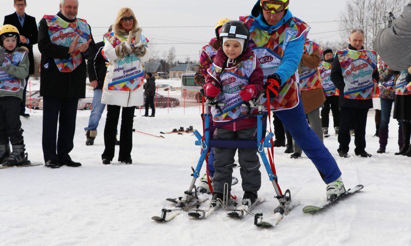 В Тюбинг-Парке Елагино стартовала программа «Лыжи мечты»