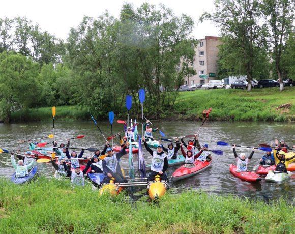 Подведение итогов экологической акции «Живая река»