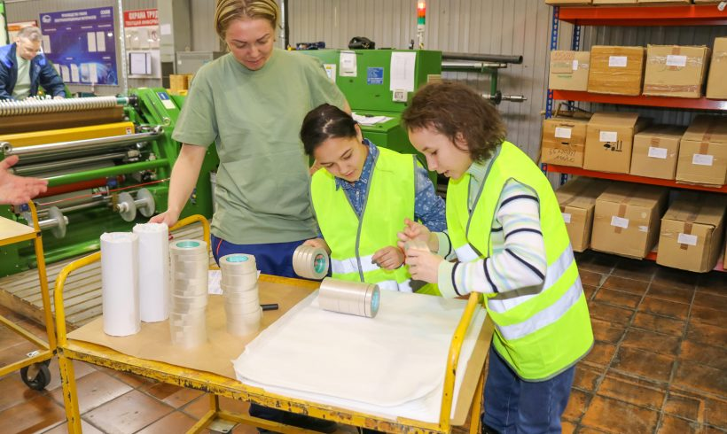 Школьники Наро-Фоминска побывали на заводе «Элинар» в Атепцево
