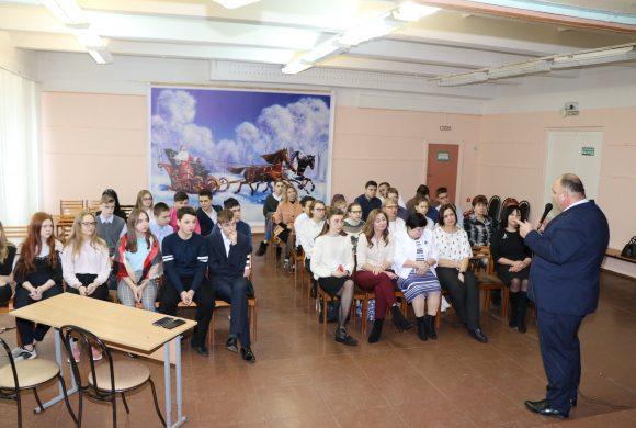 Программа профессиональной ориентации для школьников продолжается