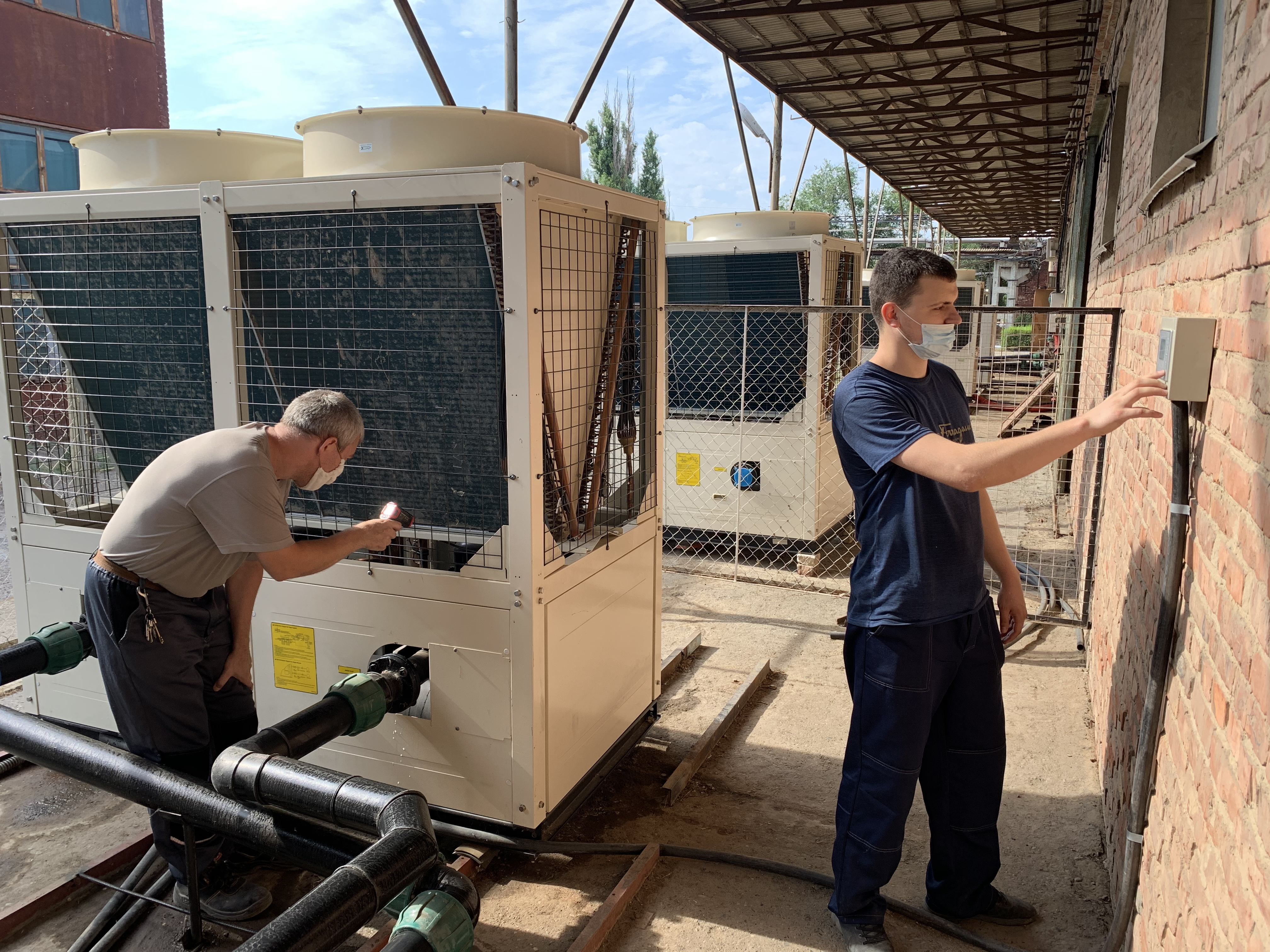Обновление оборудования завода Астраханское стекловолокно_1