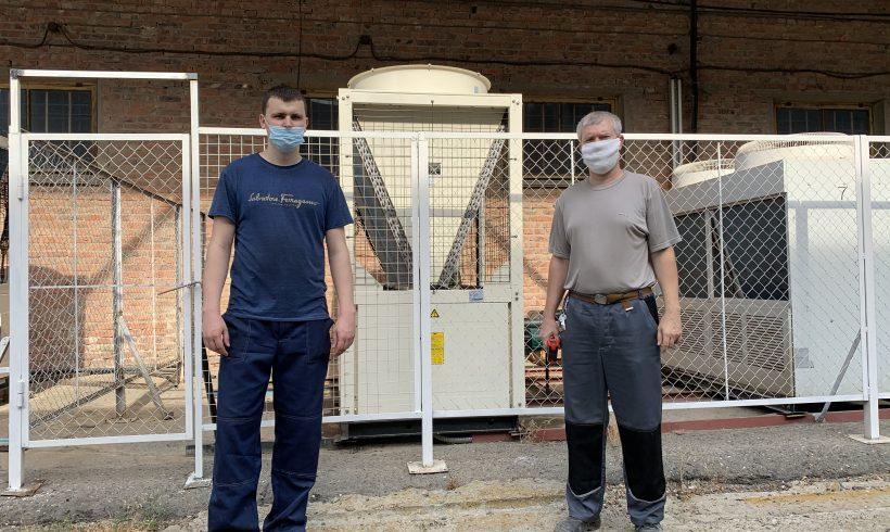 Обновление оборудования завода «Астраханское стекловолокно»