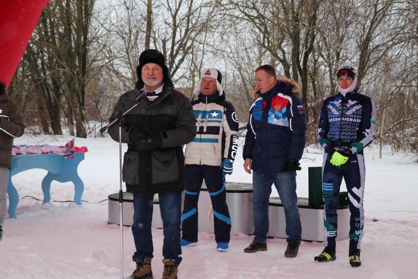 Лыжные гонки в тюбинг-парке «Елагино» на Кубок Александра Легкова